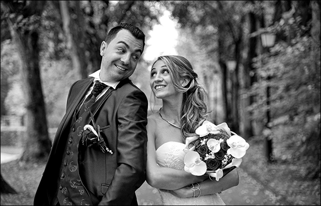 Shooting photo de mariage